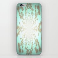 tiffany iPhone & iPod Skins featuring Ethereal Tiffany by 2sweet4words Designs