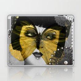 Butterfly Woman Laptop & iPad Skin