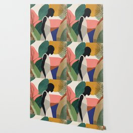 Tropical Girl Wallpaper