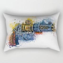Steampunk Gun Rectangular Pillow