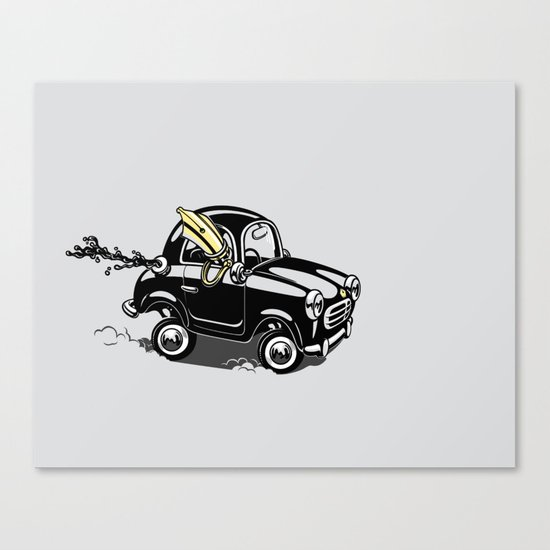 Pendrive Canvas Print