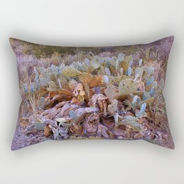 Lifecycle of Prickly Pear Cactuses Rectangular Pillow