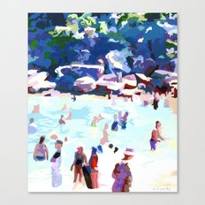 Eleven AM (Shelly Beach) Canvas Print