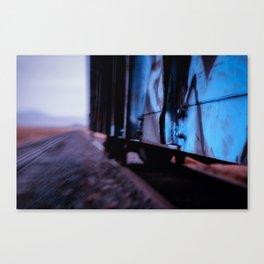Hoppin the Train Canvas Print