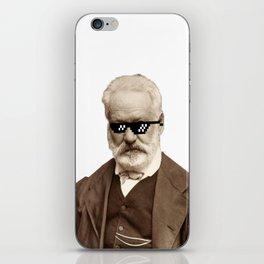 Thug Victor Hugo iPhone Skin