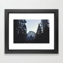 Half Dome Framed Art Print