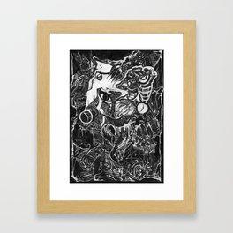 The Jester Framed Art Print