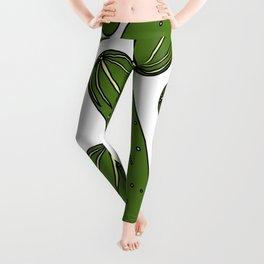 Green Pickles Leggings