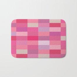 Shades of pink Bath Mat
