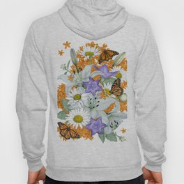 Butterfly Weed and Monarchs Hoody
