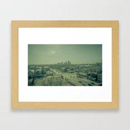 Gritty City Framed Art Print