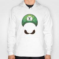 luigi Hoodies featuring Luigi Vuitton by Sam Pea