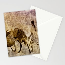 island tapestry Stationery Cards
