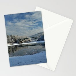 River View - Finally Looks Like Winter Stationery Cards