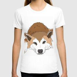 Shiba Inu Dog-Jax from London T-shirt