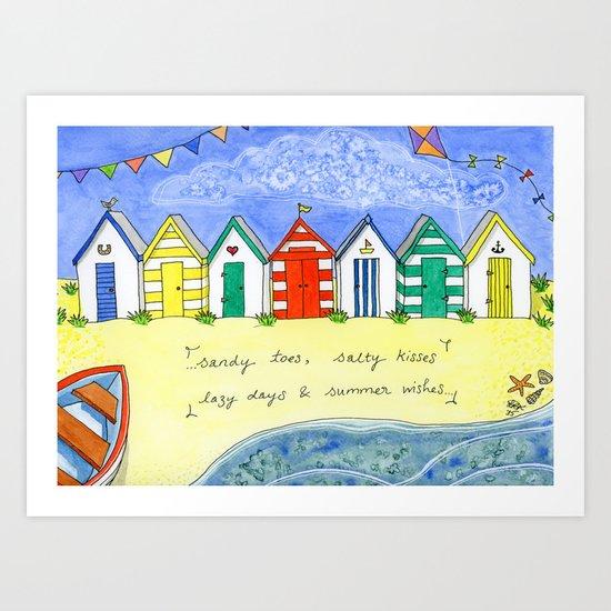 Summer Wishes Art Print