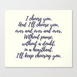 Wedding Quotes Canvas Print
