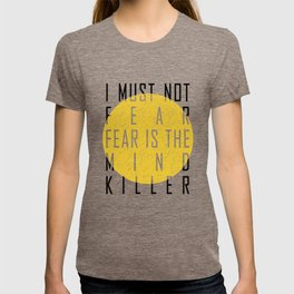 Dune - The Litany Against Fear (BLK) T-shirt