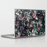 garden Laptop & iPad Skins featuring Space Garden by RIZA PEKER