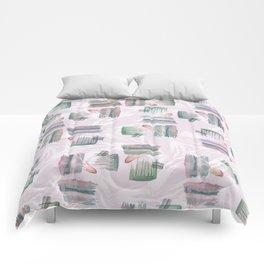 Evoke's Brushstokes Comforters