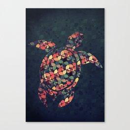 The Pattern Tortoise Canvas Print