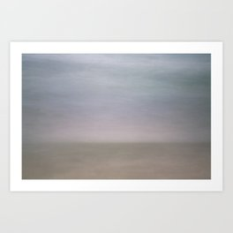 Sunrise at the Beach Art Print