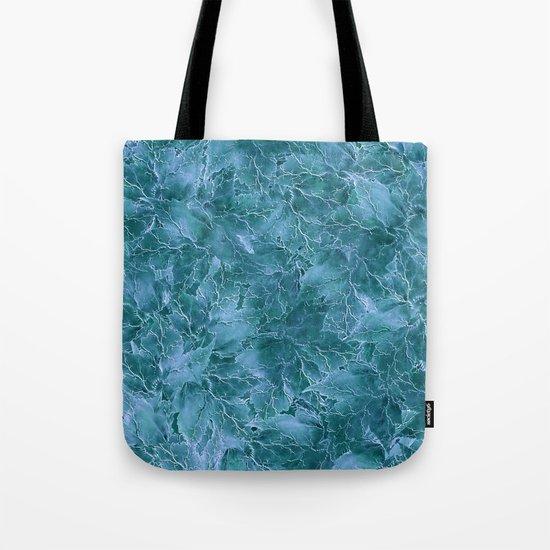 Frozen Leaves 17 Tote Bag
