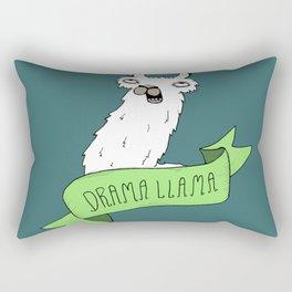 Drama Llama Rectangular Pillow
