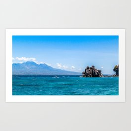 Dauin and the Bohol Sea Art Print
