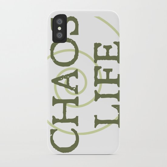 ChaosLife: The Print iPhone Case