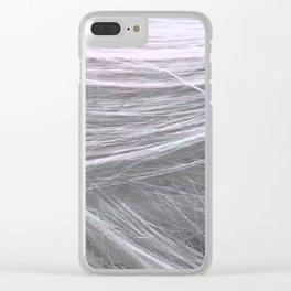 Dragon Beard Candy Clear iPhone Case