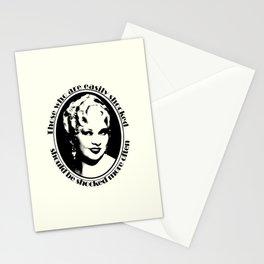 Mae West Stationery Cards