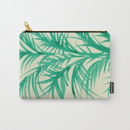 Mint Palms Carry-All Pouch