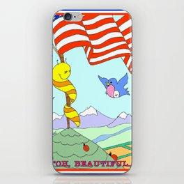 """Oh Beautiful"" iPhone Skin"