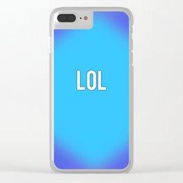 LoL Clear iPhone Case