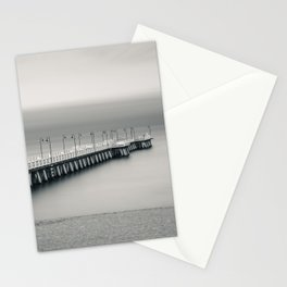 silent pier Stationery Cards