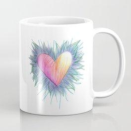 Bursting with Color Heart Coffee Mug