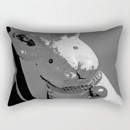 Bunny Noir Rectangular Pillow