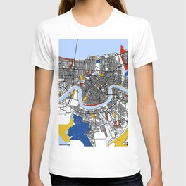 New orleans Mondrian T-shirt