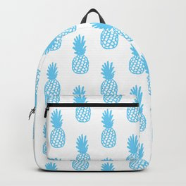 Light Blue Pineapple Backpack