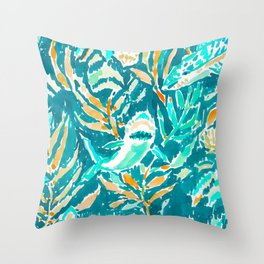 SHARK BITE Throw Pillow
