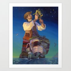 The Navigator's Gift Art Print