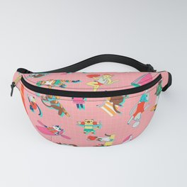 Purrrfect Summer Fanny Pack