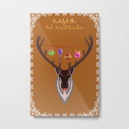 Rudolph the Red Nosed Reindeer Metal Print