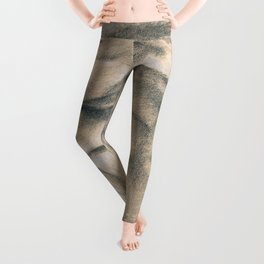 Wild Souls Snuggling Wolves Drawing Leggings