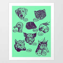 Pet Sounds Art Print