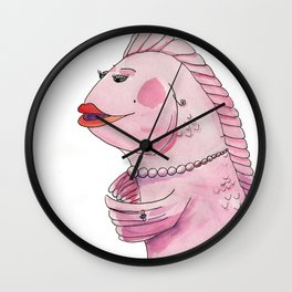 Her Name was Lola Wall Clock