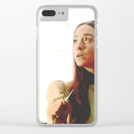Our Lad of the Tree Clear iPhone Case