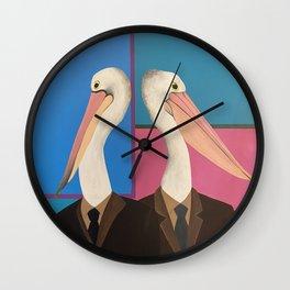 Pelican Business  Wall Clock