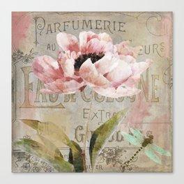 Le Fleur Jardin Canvas Print
